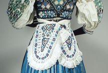 Náš Slovenský foklór (Our Slovak folklore) / Traditional Slovak folk costumes