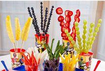 Power Rangers Party: Creative DIY Ideas