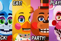 Five Nights at Freddy's / Makena's Board / by Shari West Burns