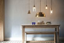 The 2014 Collection / We are introducing our fresh new Spring Look for 2014. A showcase of 5 new pendant lights paired with beautiful blues, bright and breezy styling mixed with vintage industrial chic, we have something for every taste. We are bouncing into Spring head first!