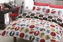 #bedding / Set the trend with a collection of contemporary designs incorporating photographic prints and textured imagery.
