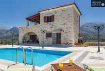 Villas in Plaka-Almyrida, Apokoronas, Crete / Traditional and Luxury Villas in Apokoronas