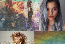 Washed out pastels