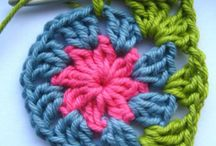 Crochet / These finished pieces were created using yarn and a supplied crochet hook.
