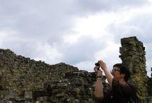 byland abbey / beautiful place near coxwold village