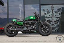 """Sportster Harley 48 """"Cosmic Girl"""" / Sportster Harley 48 """"Cosmic Girl"""" Designed by Vida Loca Choppers in 2016"""