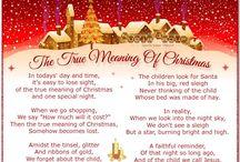 Christmas poems/ readings