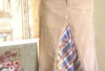 jupe cravate