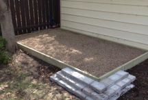 DIY Dog Potty Area