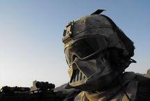 Mask / military helmet mask