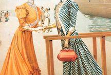 Мода 1900х
