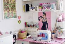 SEWING CORNERS / Cute inspiring little corners for sewing