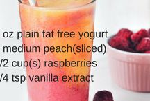 Smoothies and drinks / For weight loss