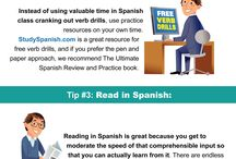 Spanish Learning Resources / Resources to help students (no matter their age) learn Spanish.