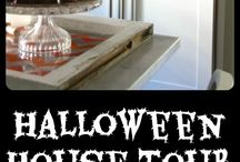 I Heart My Halloween House / Boo! Deck out your house for Halloween with these great ideas. Halloween decor, crafts, recipes and everything in between. / by Eclectically Vintage