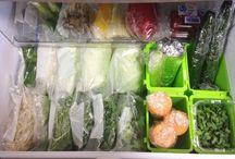 냉장고 수납