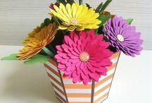 kwiaty / ręcznie robione kwiaty