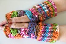 Crocheting-Gloves & Mittens & Cuffs / by marybeth mainard-giffin