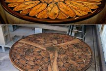 Wooden art to make