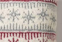 pletený vankúšik