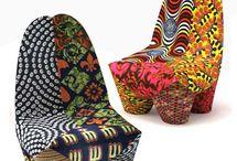African Furniture: Chitenge