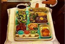 Old School Airline Meals / My board celebrating old-school airline meals.