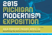 Detroit Modernism Week / // June 2-11, 2016 // A ten day salute to Michigan's contributions to the Modern Movement. Check out the full event listings at www.DetroitModernismWeek.com