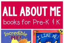 All About Me Theme / Books, activities and games to get your preschoolers excited about learning and themselves.
