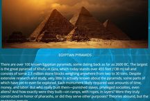 Egyptian Pyramids / Topic of Oracle Series book three, River of Ore!