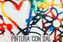PINTURA CON SAL
