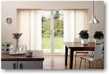 Window covering for patio doors / by Laura Henry