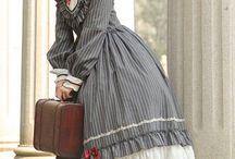 Victorian's dresses