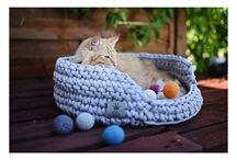 Lilly Pet Shop <3 CATS / Ręcznie robione akcesoria dla kotów. Legowiska, zabawki, kosze na zabawki. * Handmade cat accessories. Cat baskets, cat toys, toys baskets.
