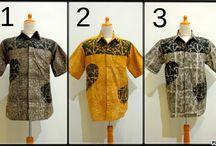 Batik Shirt / Stamp Batik