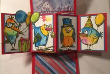 Cards-TH Crazy Birds, Dogs, Cats