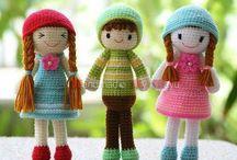 muñecas tejidas
