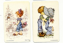 Illustration | Vintage Swap Cards