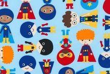 Super Kids Fabric