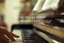Music and lyrics / by Monika van Laar