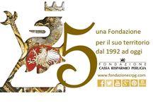 Una Fondazione per il suo territorio / La Fondazione di Perugia è a servizio del proprio territorio dal 22 maggio 1992 #FondazioneCRPG25