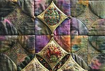 Patchwork quilting + applique