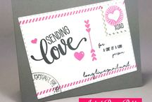 Love is in the Air Stamp of Approval- Valentine's Day Cards and More!