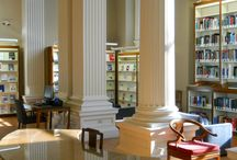 Around the Library / From the Information Desk to Technical Services, go behind the scenes at the Othmer Library, past and present.