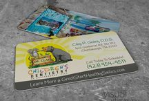 Specialty Business Cards / Creative business card ideas I have designed and printed for clients