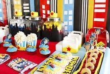 Superhero Party / Superhero party ideas like superhero food, party games, party decorations, superhero favors and more!  / by Moms and Munchkins