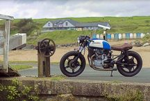 Bespoke Motorcycles / I'll be restoring/modifying a 1984/83 Honda CM450E. These are my inspiration.