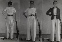 Жен кост 1930-ые