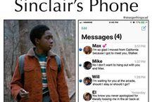 stranger things: inside phone