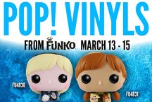 POP! Vinyls by Funko