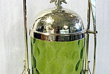 Antique Pickle Jars and Castors / by Hillary